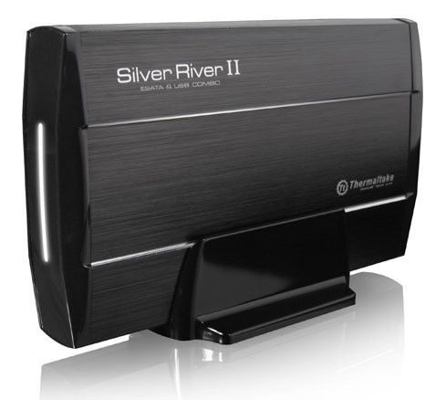Внешний корпус для  HDD THERMALTAKE Silver River II ST0016E, черный