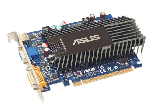 Видеокарта ASUS GeForce 8400 GS,  512Мб, DDR2, Ret [en8400gs/htp/512m(lp)]