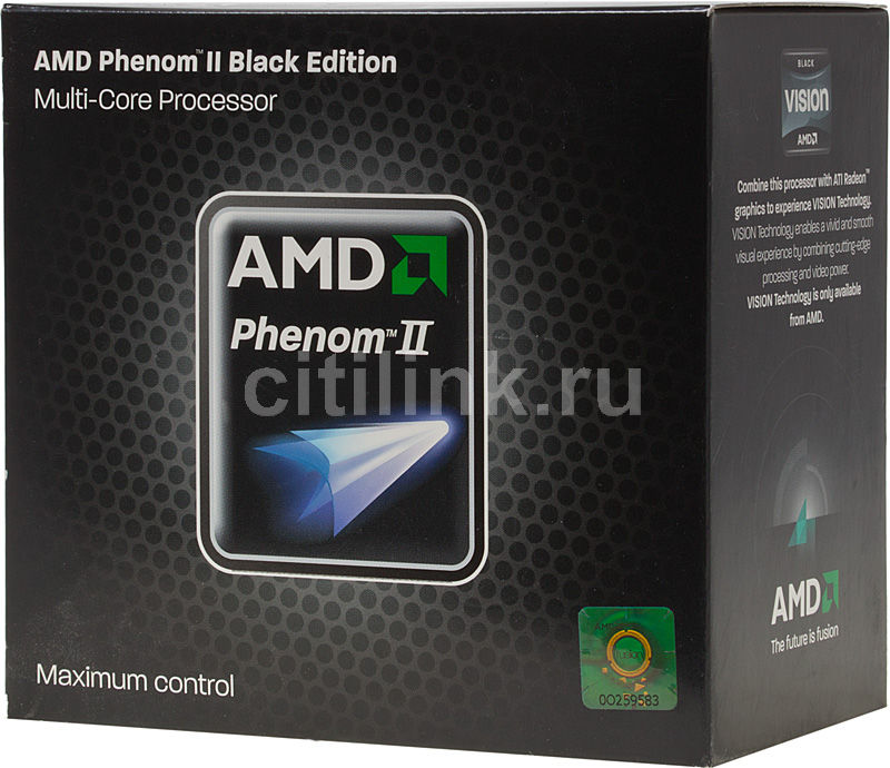 Процессор AMD Phenom II X4 965 Black Edition, SocketAM3 BOX [hdz965fbgмbox]