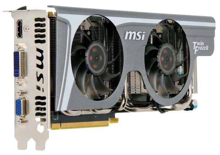 Видеокарта MSI GeForce GTX 275,  1.8Гб, GDDR3, Ret [n275gtx lightning]