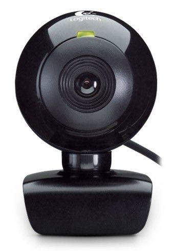 Web-камера LOGITECH WebCam C120,  черный [960-000541]
