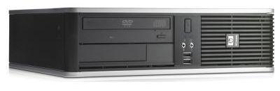 HP dc7900SFF,  Intel  Core2 Duo  E7500,  DDR2 1Гб, 160Гб,  Intel GMA X4500,  DVD-RW,  Windows Vista Business,  черный [na658ea]