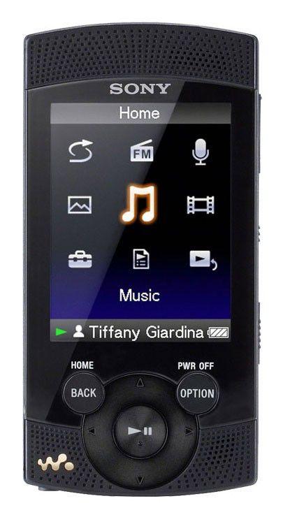 MP3 плеер SONY NWZ-S545B flash 16Гб черный [nwzs545b.cev]