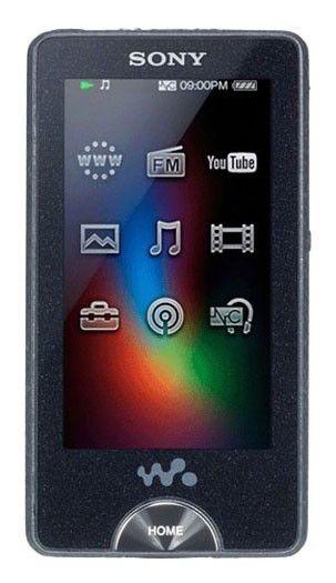 MP3 плеер SONY NWZ-X1060B flash 32Гб черный [nwzx1060b.cev]