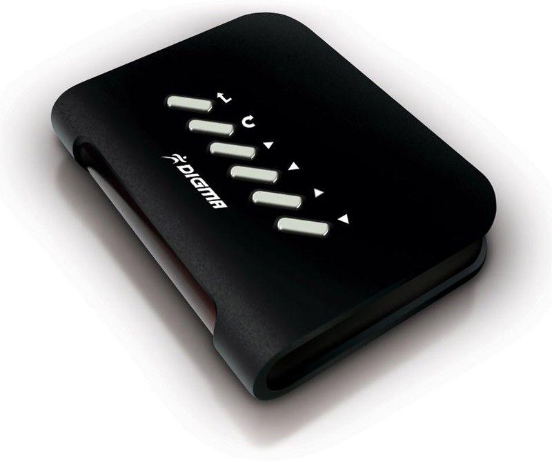 Медиаплеер DIGMA DMP-100,  черный