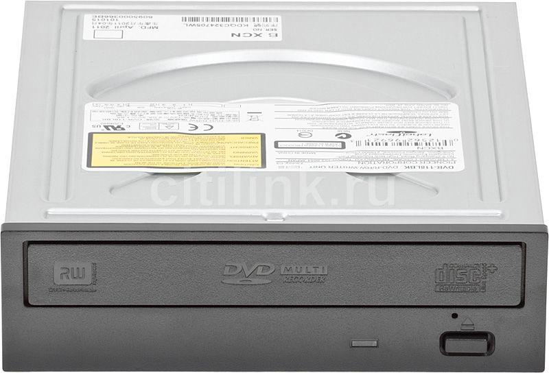 Оптический привод DVD-RW PIONEER DVR118LBK, внутренний, IDE, черный,  OEM