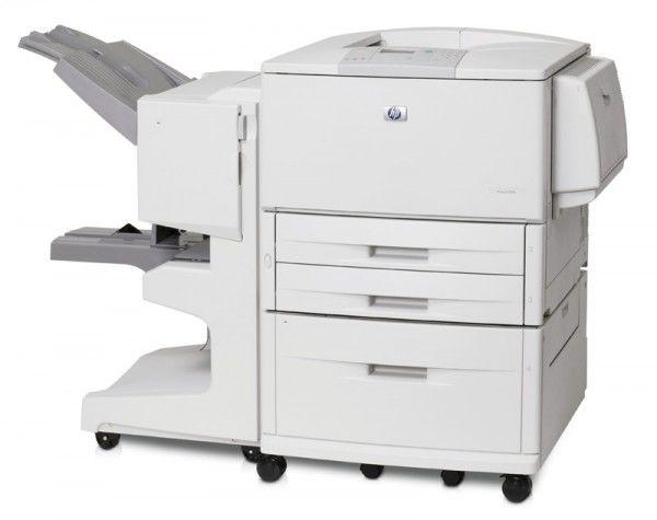 Принтер HP LaserJet 9040N лазерный, цвет:  белый [q7698a]