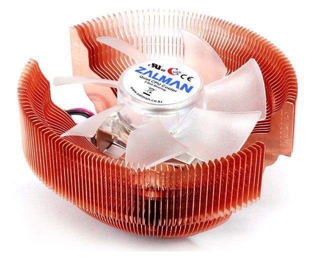 Устройство охлаждения(кулер) ZALMAN Zalman CNPS7000C-Cu LED,  92мм, Ret