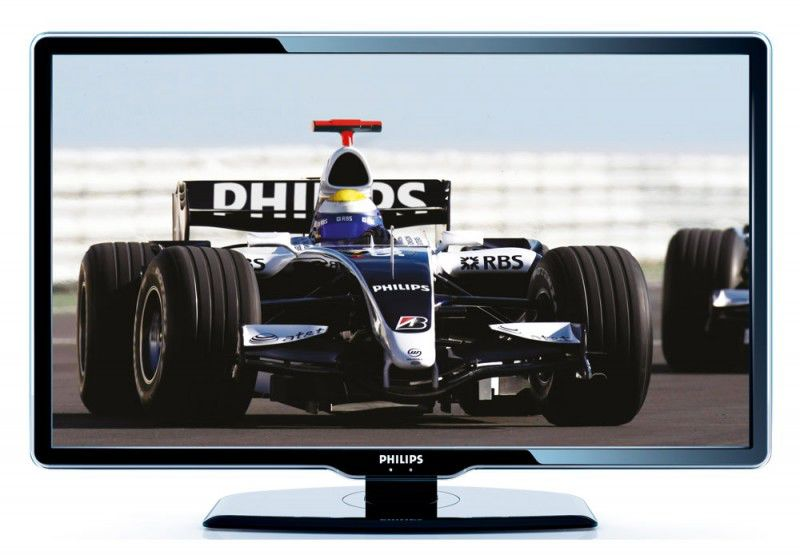 "Телевизор ЖК PHILIPS 52PFL7404H/60  ""R"", 52"", FULL HD (1080p),  черный"