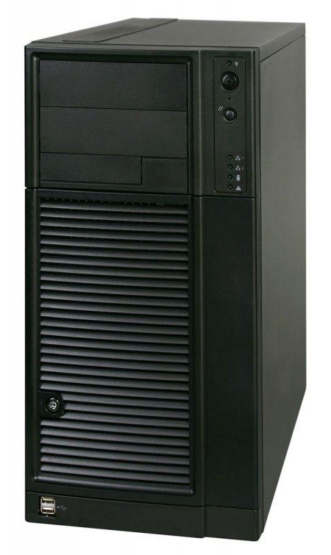 Сервер iRu Rock i165U X3420/4G1333Reg/2x500F/Raid5SW/DVDRW/400W