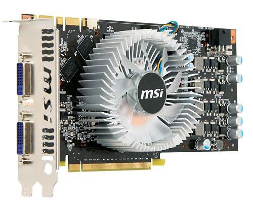 Видеокарта MSI N250-GTS-2D1G OC Economic,  1Гб, DDR3, Ret