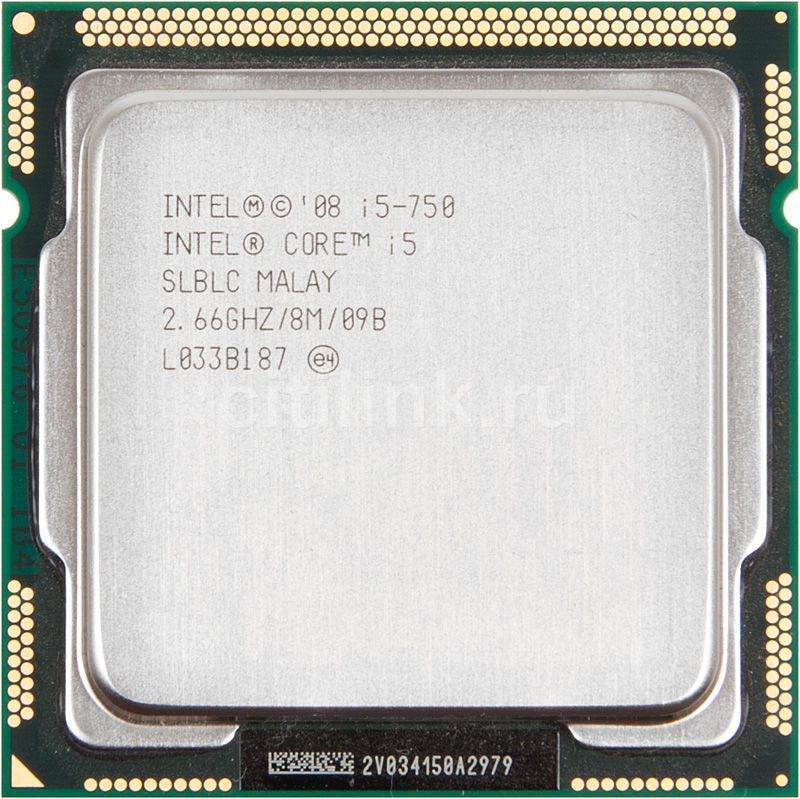 Процессор INTEL Core i5 750, LGA 1156 OEM [cpu intel lga-1156 ci5 750 oem]