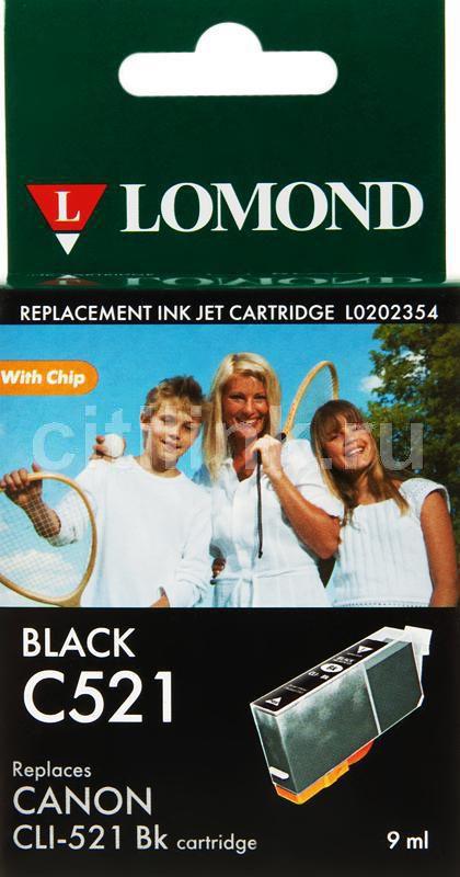 Картридж LOMOND CLI-521Bk черный [l0202354]