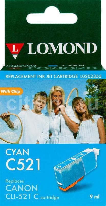 Картридж LOMOND CLI-521C голубой [l0202355]