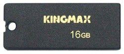Флешка USB KINGMAX Super Stick 16Гб, USB2.0, черный