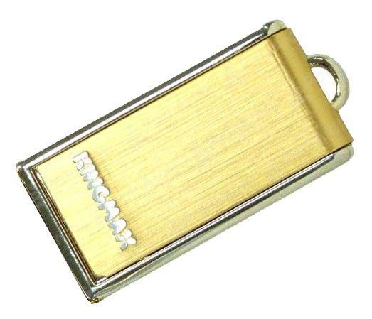 Флешка USB KINGMAX U-Drive UD-02 16Гб, USB2.0, золотистый