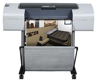 Плоттер HP Designjet T1120ps 24-in Printer (CK838A)