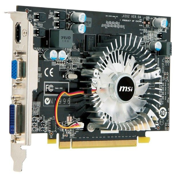 Видеокарта MSI GeForce GT 220,  512Мб, DDR2, Ret [n220gt-md512]