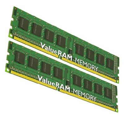 Память DDR3 4Gb 1066MHz ECC Reg CL7  Kit of 2 SR, x4 w/Thrm Sen Intel KVR1066D3S4R7SK2/4GI