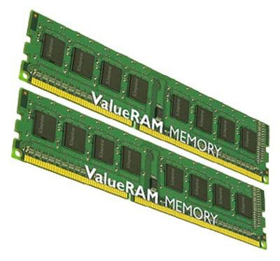 Память DDR3 4Gb 1066MHz ECC Reg w/Parity CL7  Kit of 2 DR x8 w/TS Intel KVR1066D3D8R7SK2/4GI