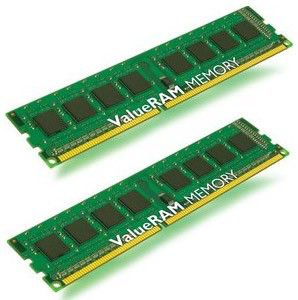 Память DDR3 4Gb 1333MHz ECC Reg w/Par CL9  Kit of 2 DR x8 w/Sen Intel KVR1333D3D8R9SK2/4GI