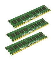 Память DDR3 6Gb 1066MHz ECC Reg w/Parity CL7  Kit of 3 DR x8 w/TS Intel KVR1066D3D8R7SK3/6GI