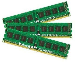 Память DDR3 6Gb 1333MHz DDR3 ECC Reg w/Par CL9  Kit of 3 DR x8 w/Sen Intel KVR1333D3D8R9SK3/6GI