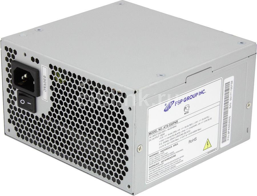 Блок питания FSP 550PNR,  550Вт,  120мм [atx-550pnr]
