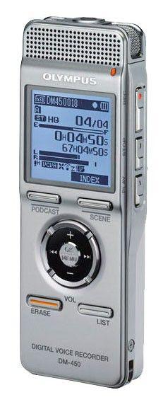 Диктофон OLYMPUS DM-450 2 Gb,  черный [n2283221]