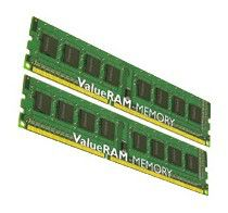 Память DDR3 8Gb 1066MHz ECC Reg CL7 Kit2 4R, x8 w/Thrm Sen Intel Kingston KVR1066D3Q8R7SK2/8GI