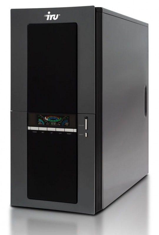 IRU Brava Home 124W,  Intel  Core2 Duo  E8500,  DDR2 4Гб, 500Гб,  nVIDIA GeForce 9800 GT - 512 Мб,  DVD-RW,  CR,  Windows 7 Home Premium,  черный