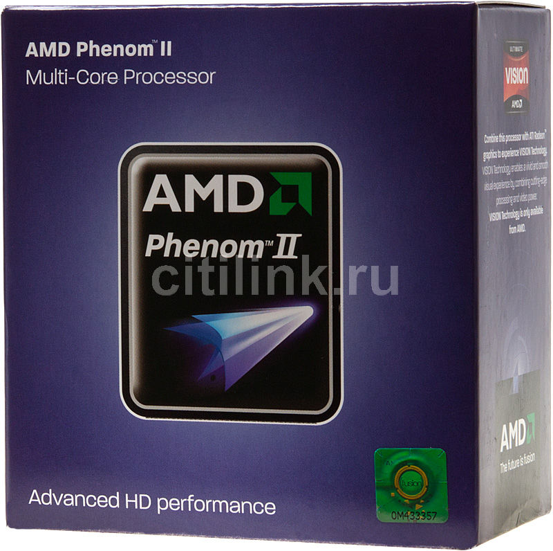 Процессор AMD Phenom II X4 925, SocketAM3 BOX [hdx925wfgibox]