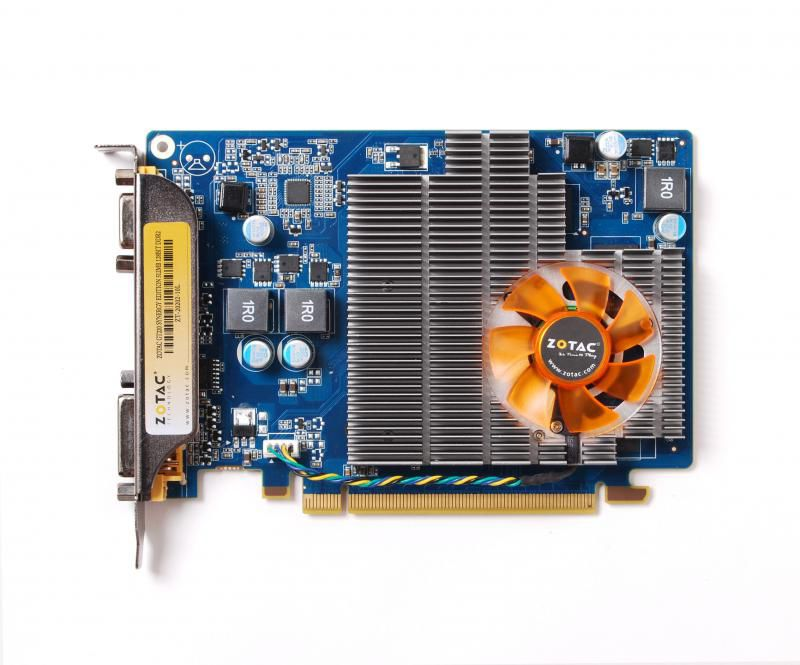 Видеокарта ZOTAC GeForce GT220, ZT-20202-10L,  512Мб, DDR2, Ret