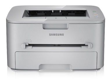 Принтер SAMSUNG ML-1910/XEV лазерный, цвет:  белый