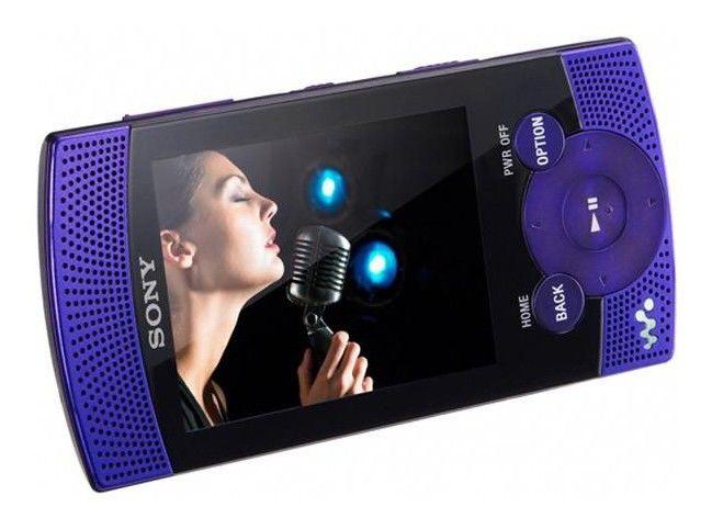 MP3 плеер SONY NWZ-S544V flash 8Гб фиолетовый [nwzs544v]