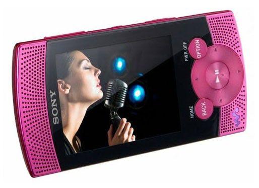 MP3 плеер SONY NWZ-S545P flash 16Гб розовый [nwzs545p]