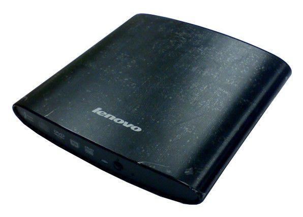Оптический привод DVD-RW LENOVO GP20N, внешний, USB, черный,  OEM [888009622]