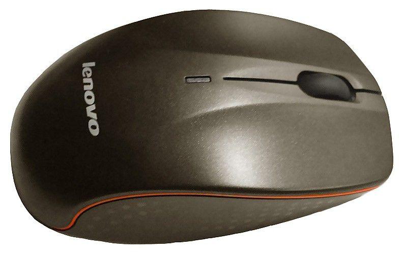 Мышь LENOVO N30 оптическая беспроводная USB, черный [888009483]