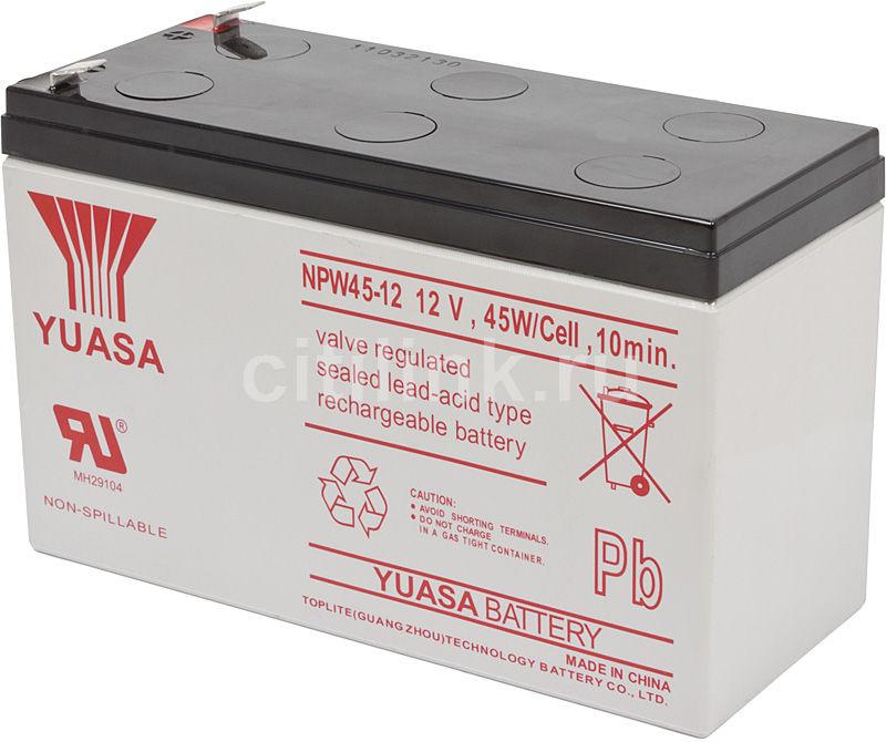 Батарея для ИБП YUASA NPW45-12  12В,  9Ач