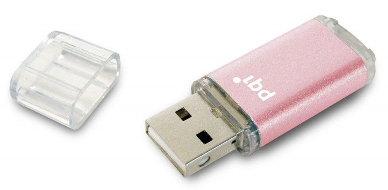 Флешка USB PQI Traveling Disk U273 2Гб, USB2.0, розовый