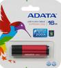 Флешка USB A-DATA Superior C905 16Гб, USB2.0, красный [ac905-16g-rrd] вид 1