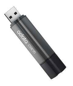 Флешка USB A-DATA Superior C905 32Гб, USB2.0, серый и черный [ac905-32g-rgy]