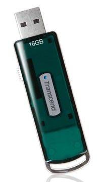 Флешка USB TRANSCEND Jetflash V15 16Гб, USB2.0, зеленый [ts16gjfv15]