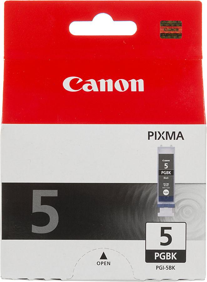 Картридж CANON PGI-5BK черный [0628b024]