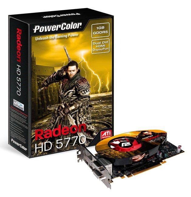Видеокарта POWERCOLOR Radeon HD 5770,  1Гб, DDR5, Ret [ax5770 1gbd5-mdhv2]
