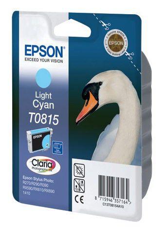 Картридж EPSON T0815 светло-голубой [c13t11154a10]