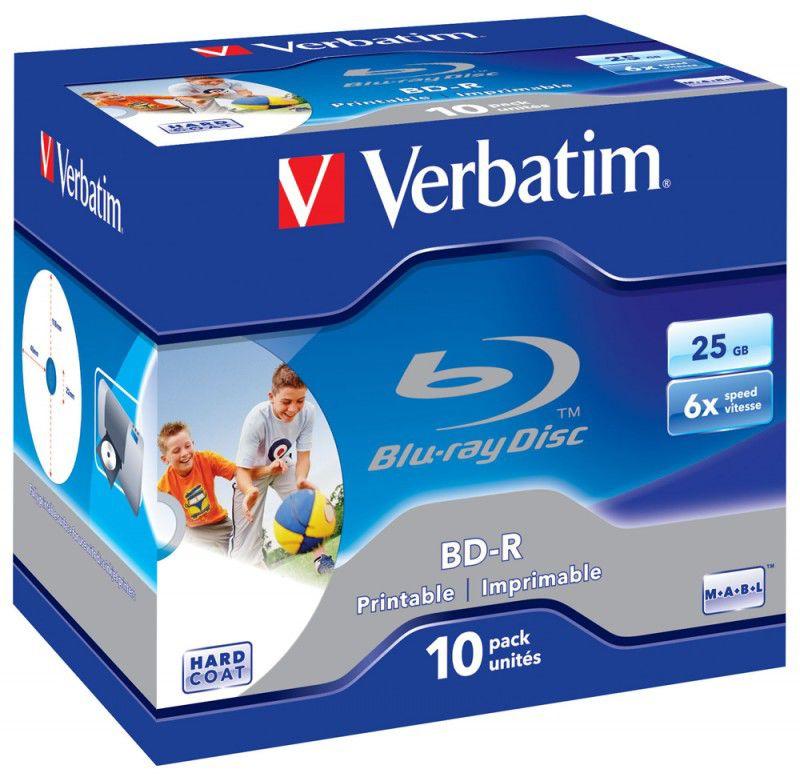 Оптический диск BD-R VERBATIM 25ГБ