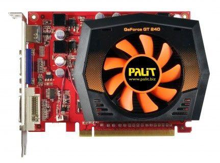 Видеокарта PALIT GeForce GT 240,  512Мб, DDR5, Ret [ne5t2400fhd51]