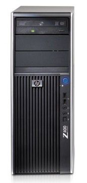 HP Z400,  Intel  Xeon  W3520,  DDR3 3Гб, 320Гб,  DVD-RW,  Windows 7 Professional,  черный [kk574ea]