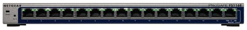 Коммутатор NETGEAR FS116E-100PES, FS116E-100PES